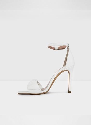 Aldo Roermond-Tr - Beyaz Kadin Topuklu Sandalet Beyaz